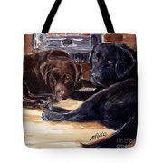 Firelight Tote Bag by Molly Poole