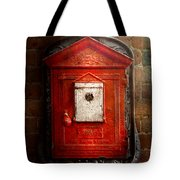 Fireman - The Fire Box Tote Bag by Mike Savad