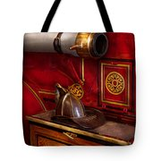 Firemen - An Elegant Job  Tote Bag by Mike Savad