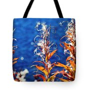 Fireweed Flower Tote Bag by Heiko Koehrer-Wagner