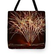 Fireworks At Tempe Town Lake Tote Bag by Saija  Lehtonen