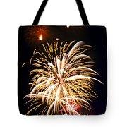 Fireworks Tote Bag by Elena Elisseeva