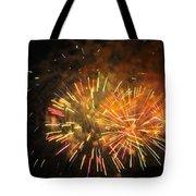 Fireworks IIi Tote Bag by Tiffany Erdman