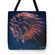 Fireworks Series I Tote Bag by Suzanne Gaff