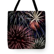 Fireworks Spectacular Tote Bag by Jim and Emily Bush