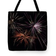 Fireworks With Pride Tote Bag by Christina Rollo