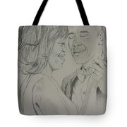 First Dance Tote Bag by DMo Herr