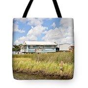 Fish Camp Tote Bag by Scott Pellegrin
