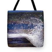 Fishing Beyond The Surf Tote Bag by Terri Waters