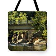Fishing In Deer Creek Tote Bag by James Eddy