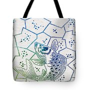 Fishing Net Tote Bag by Aged Pixel