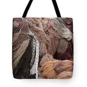 Fishnets Tote Bag by Frank Tschakert