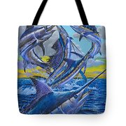 Five Billfish Off00136 Tote Bag by Carey Chen
