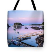 Five Islands Dawn Tote Bag by Susan Cole Kelly