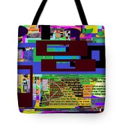 Fixing Space 11 Tote Bag by David Baruch Wolk