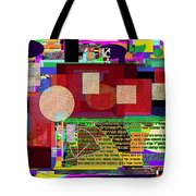 Fixing Space 12 Tote Bag by David Baruch Wolk