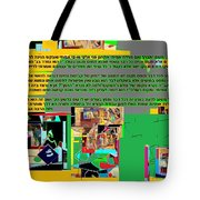 Fixing Space 3 Tote Bag by David Baruch Wolk