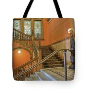 Flagler College Entryway Tote Bag by Rich Franco