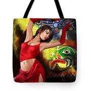 Flamenco Dancer 010 Tote Bag by Catf