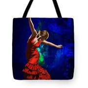 Flamenco Dancer 014 Tote Bag by Catf