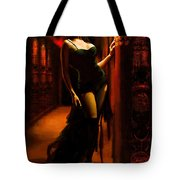 Flamenco Dancer 015 Tote Bag by Catf