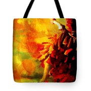 Flamenco Dancer 026 Tote Bag by Catf