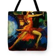 Flamenco Dancer 029 Tote Bag by Catf