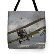 Flander's Skies Tote Bag by Pat Speirs
