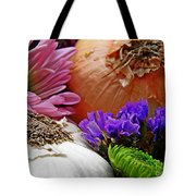 Flavored with Onion and Garlic Tote Bag by Sarah Loft