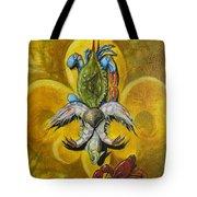 Fleur De Lis Tote Bag by Theon Guillory