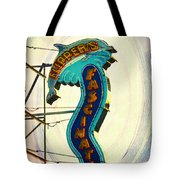 Flippers Facination - Wildwood Boardwalk Tote Bag by Bill Cannon