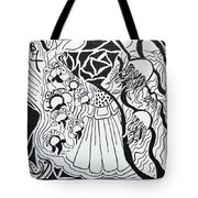 Floating Zen Tote Bag by Beverley Harper Tinsley