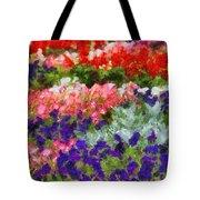 Floral Fantasy Tote Bag by Dan Sproul