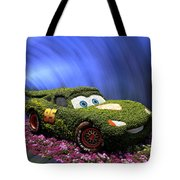Floral Lightning Mcqueen Tote Bag by Thomas Woolworth