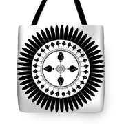 Floral Ornament Tote Bag by Frank Tschakert