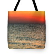 Florida Point Sunrise Tote Bag by Michael Thomas