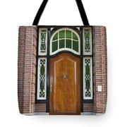 Florishaven Doorway Tote Bag by Phyllis Taylor
