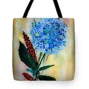 Flower Decor Tote Bag by Nirdesha Munasinghe