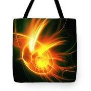 Flower Energy Tote Bag by Anastasiya Malakhova