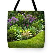 Flower Garden Tote Bag by Elena Elisseeva