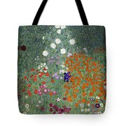 Flower Garden Tote Bag by Gustav Klimt