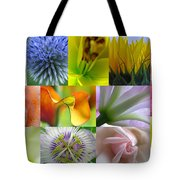 Flower Macro Photography Tote Bag by Juergen Roth