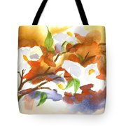 Flowering Dogwood III Tote Bag by Kip DeVore