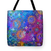 Fly Away To Fairy Day Tote Bag by The Art With A Heart By Charlotte Phillips