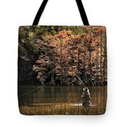 Fly Fishing  Tote Bag by Tamyra Ayles