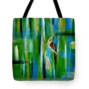 Fly Without Wings Tote Bag by The Art With A Heart By Charlotte Phillips