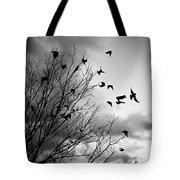 Flying Birds Tote Bag by Elena Elisseeva
