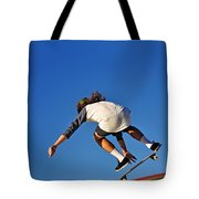 Flying High - Action Tote Bag by Kaye Menner