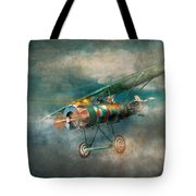 Flying Pig - Acts Of A Pig Tote Bag by Mike Savad