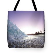 Foam Wall Tote Bag by Sean Davey